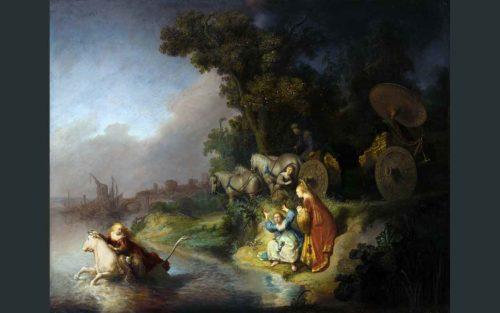 おうし座の神話の絵